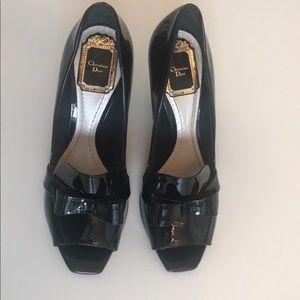 Original Christian Dior Black High Heels